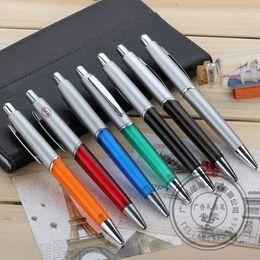 Wholesale Office Supplies Manufacturers - Half metal ball pen, oil pen cheap promotional pens advertising press manufacturers supply
