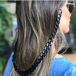 2019 occhiali da corda Fashion Design Occhiali da sole Occhiali da vista Catena per occhiali da donna Cord Holder Neck Strap Rope Goggles Retro Chain occhiali da corda economici