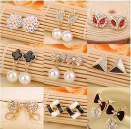 Wholesale Cheap Black Pearl Earrings - Hot Summer Style Pearl Earrings for women Cheap jewelry Charms Earrings good earrings pendant Variety of styles