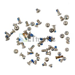Wholesale Original Iphone Screws - For iPhone 6 Plus Full Set Screws 100% Original Gold Silver Color AD0325 DHL Free Shipping For 6 Plus 5.5 Inch Repair Part Replacement