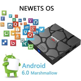 Wholesale Wi Fi Tv Box - S905X TV Box Android 6.0 1GB 8GB M96X mini KDMC 17.3 fully Loaded 4K Smart Internet Media Box with 1080P Wi-Fi H.265