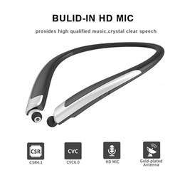 Top-Qualität HBS 1100 Bluetooth Headset Wireless HBS1100 CSR 4.1 Neckband Sport Ohrhörer mit Mikrofon Kopfhörer für iPhone Samsung von Fabrikanten