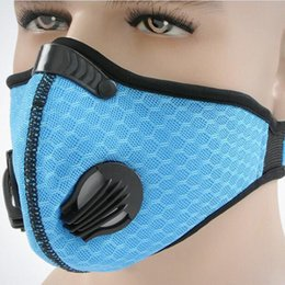 Wholesale Bicycle Mask Filter - Bicycle Dustproof Breathable Half Face Mask Outdoor Winter Rainproof Cycling Motorcycle Masks Anti-dust Face Mask with Filter