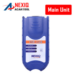 Wholesale Truck Code Readers - 2016 New Arrival Nexiq Truck Diesel Diagnostic Tool NEXIQ 125032 USB Link main unit free shipping!