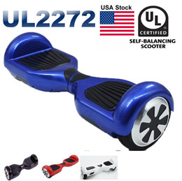 Wholesale Wholesale Self Balancing Scooter - UL 2272 Electric Scooters USA Stock Hoverboard LED Light Self Balancing Scooter Skateboard Cxinwalk Safest Drifting Board CE UL Hoverboard