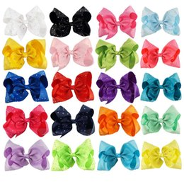 dancing hair Coupons - Jojo Hair Bow With Rhinestone Plain Diamond Hair Bow Pageant Cheerleading Bow For Dance Cheerleader Girl