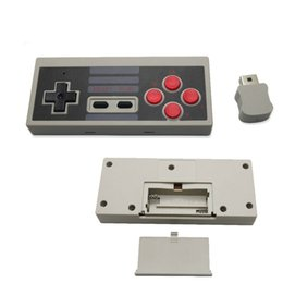 Wholesale Mini Joystick Game Controller - 2017 New Mini Wireless Gamepad Joystick Handle Controller for Classic NES Console for Mini NES Game Gaming Retro