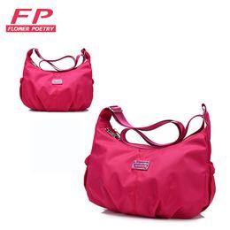 Wholesale Wholesale Hobo Messenger - Wholesale- 2016 Women Messenger Bags Hobos Women Bag PU Leather Crossbody Bags Women Shoulder Bag Ladies Designer Handbags Bolsos