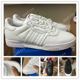 Wholesale Cheap Adult Shoes - 2017 Cheap Classics Powerphase Kanye West x Calabasas Women Men Running shoes Sneakers Adult Lightweight Trainer CQ1693 Eur 36-45 US 5-11