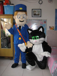 Caliente de alta calidad Real Pictures Postman Pat con traje de la mascota  de Jess envío gratis 0a56da7c3b7
