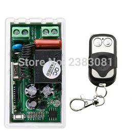Wholesale Rf Radio Switch - Wholesale- NEW AC220V 1CH 10A Radio Controller RF Wireless Push Remote Control Switch 315 MHZ 433 MHZ teleswitch Transmitter +Receiver