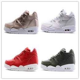 Wholesale Air Flights 89 - New Air Flight 89 Mens Trainers   Boots. Size 10 UK red gold white black online wholesale boy trainers fashion design comfortable