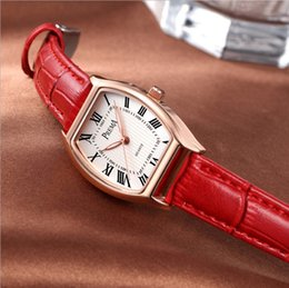Wholesale Tan Belt For Women - PREMA Luxury Women Watches Ladies Fashion Brand Watches PU Leather Belt Quartz Wristwatches 9 Colors Watches For Women Gifts Free Shipping