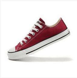 Wholesale Renben Shoes - DROP shipping High-quality RENBEN Classic Low-Top & High-Top canvas Casual shoes sneaker Men's Women's canvas shoes Size EUR 35-46 Cheap