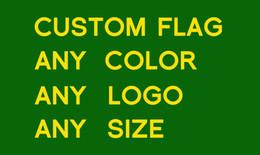 Wholesale Flag Flown - 3ft*5ft Retail custom flags via epackat flying flag sports club university military advertising flags 100D single side digital printing