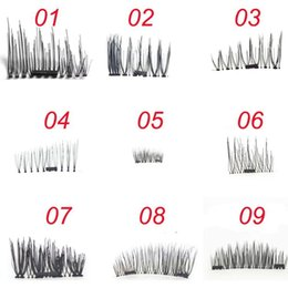 Wholesale Hair Labels - Magnetic eyelashes lastest easy to ware magnet eyelashes ultrathin magnetic lash private label logo can be accepted