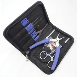 ensembles d'outils maîtres Promotion Klom Master Kit d'extracteur de clé cassée Choisissez La clé cassée Verrouillage de sélection Pick Set Lock Oper