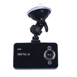 Wholesale Video Memory Card Recorder - Car DVR K6000 1.3Mega 2.7inch 1080P Full HD LED Night Recorder Dashboard Vision Veicular Camera dash cams Carcam video Registrator Car DVRs
