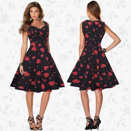 Wholesale Cheap Plus Size Midi Dresses - Newest fashion Women Casual Dress Plus Size Cheap China Dress Designs Women Clothing Fashion Sleeveless Summer Dresses Free shipping