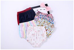 Wholesale Cotton Dress Elastic Waist - 2017 high quality 7 colors kid clothing toddler clothing baby clothing shorts summer dress baby clothes christmas gift free shipping