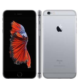 Wholesale 12mp Phone Ram - Original Apple iPhone 6s Plus Unlocked 2GB RAM 16 32 64 128GB ROM Cell Phone IOS 9 A9 Dual Core 12MP Camera 5.5' IPS LTE phone