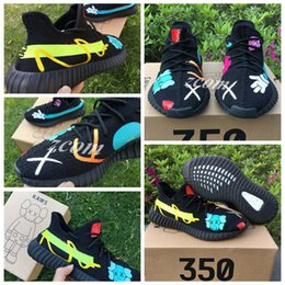 Wholesale limited edition sneakers man - 2017 Kaws X Boost 350 V2 Kanye West XX Limited Edition Sply 350 Running Shoes for Men Women Sports Sneakers with Original Box