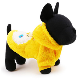 Wholesale Sheep Hoodie - Free shipping pet apparel fleece fabric cute sheep dog hoodies in Autumn and Winter pet clothes