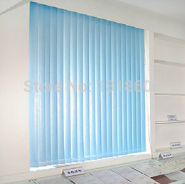 Wholesale Vertical Blinds Curtains - Wholesale-Hot-selling pvc shade blinds louver window curtain vertical blinds venetian blinds A02