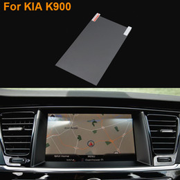 Wholesale Protective Film For Cars - Car Styling 8 Inch GPS Navigation Screen Steel Protective Film For Kia K900 Control of LCD Screen Car Sticker