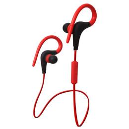 Recorrido por los auriculares online-BT-1 Tour Auricular Bluetooth Sport Earhook Earbuds Estéreo Over-Ear Auricular inalámbrico Banda para el cuello Auricular Auricular con micrófono para S8 nuevo PAQUETE