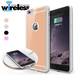 Caja de teléfono móvil QI con cargador inalámbrico para iPhone 7 6 6S Plus 5V / 1A Caja de teléfono celular con paquete desde fabricantes