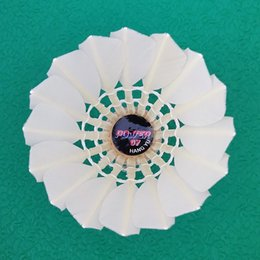 Wholesale Per Dozen - 10 DOZENS per lot Power 07 Hangyu good quality shuttlecock for professional players