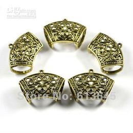 Wholesale Diy Scarf Jewellery - 12PCS LOT, Wholesale DIY Jewellery Findings Alloy Antique Bronze Scarf Pendant Accessories Holding T