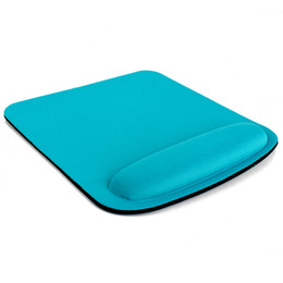 Wholesale Wrist Mouse Pad - Thicken Square Comfy Wrist Mouse Pad For Optical Trackball Mat Mice Pad Computer