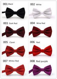 Cravatta cravatta online-Prezzo di fabbrica wholsale OEM 32 Clors Men Classic Wedding Bowtie Cravatta Novità Tuxedo Fashion Regolabile fidanzato / regalo fater