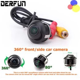 Wholesale Car Front Rear View Camera - Car Rear View 360 Degree Camera Front   Side   Rear View Reverse Camera Universal Fit for ALL Models