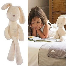 Wholesale Mini Plush Bunnies - Cute Rabbit Bunny Baby Soft Plush Toys Mini Stuffed Animals Kids Baby Toys Smooth Obedient Sleeping Rabbit Doll