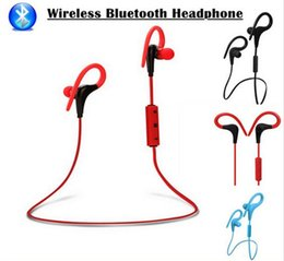 Wholesale Brand Monitors - Bluetooth Headphones BT-1 Earphones Headsets Stereo Sport Wireless Earphone In Ear Monitor Noise Canceling Handsfree Headset with microphone