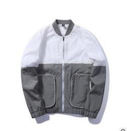 Wholesale Korean Suit Men Green - M~5XL! 2017 New Men's clothing Plus size Autumn youth fashion color suit Korean version pilot jacket