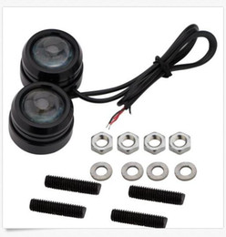 Wholesale Strobe Light Eagle Eye - 40*30mm 3W Car Lights Eagle Eye Strobe Flash LED LED Daytime Running Light DRL Fog Lights