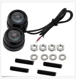 Wholesale 3w Led Eagle Eye - 40*30mm 3W Car Lights Eagle Eye Strobe Flash LED LED Daytime Running Light DRL Fog Lights