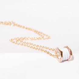 Wholesale Gold Plated Jewelry For Children - Luxury Gold Pendant Necklace Brand SAVE THE CHILDREN Style Engraved Clavicle Chain Necklace For Women Party Jewelry Gift
