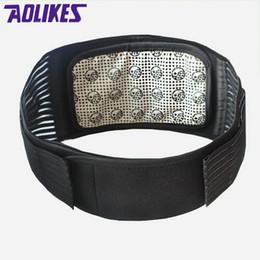 Wholesale Magnetic Heat Waist Belt Wholesaler - Wholesale- AOLIKES Tourmaline Products Self-heating Magnetic Waist Back Support Brace Belt Lumbar Warm Protector posture corrector abdomen