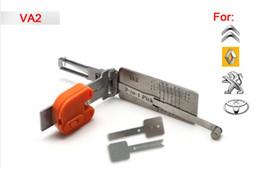 Canada [SMART] VA2 2 en 1 auto pick et décodeur pour Citroen Peugeot Renault auto pick outils pour serrurier de haute qualité Offre
