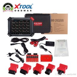 Wholesale Odometer Reset Tool For Gm - New XTOOL Original X100 Pad2 Auto Key Programmer Support Odometer OilRst TPMS TPS X100 PAd 2 Better than X300 pro3