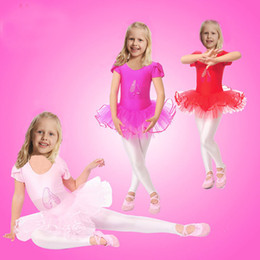 Wholesale Kids Stage Clothing - Princess New Girls Ballet Dress For Children Girl Dance Clothing Kids Ballet Costumes For Girls Dance Leotard Girl Stage Dancewear