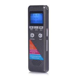 """Wholesale Telephone Recording - Wholesale-8GB 1.8"""" 700 Long Standby 350 Hours Digital Voice Recorder with Mp3 Playing Dictaphone for Record Telephone Conversation"""