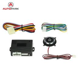 Wholesale Alarm Remote Button - Auto Car Alarm System Engine Starline Push Start Stop Button Ignition Remote Starter