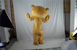 Wholesale Big Bear Costume - Easily bear Big mascot costume high quality fancy dress adult size party Halloween,christmas party clothing