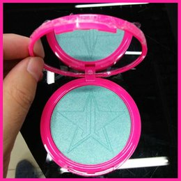 Wholesale Icing Powder - In stock Jefree Five Stars Makeup Skin Frost Ice Cold Face Jeffrey Glow Kit Bronzers Highlighters Powder with Mirror 10 Colors